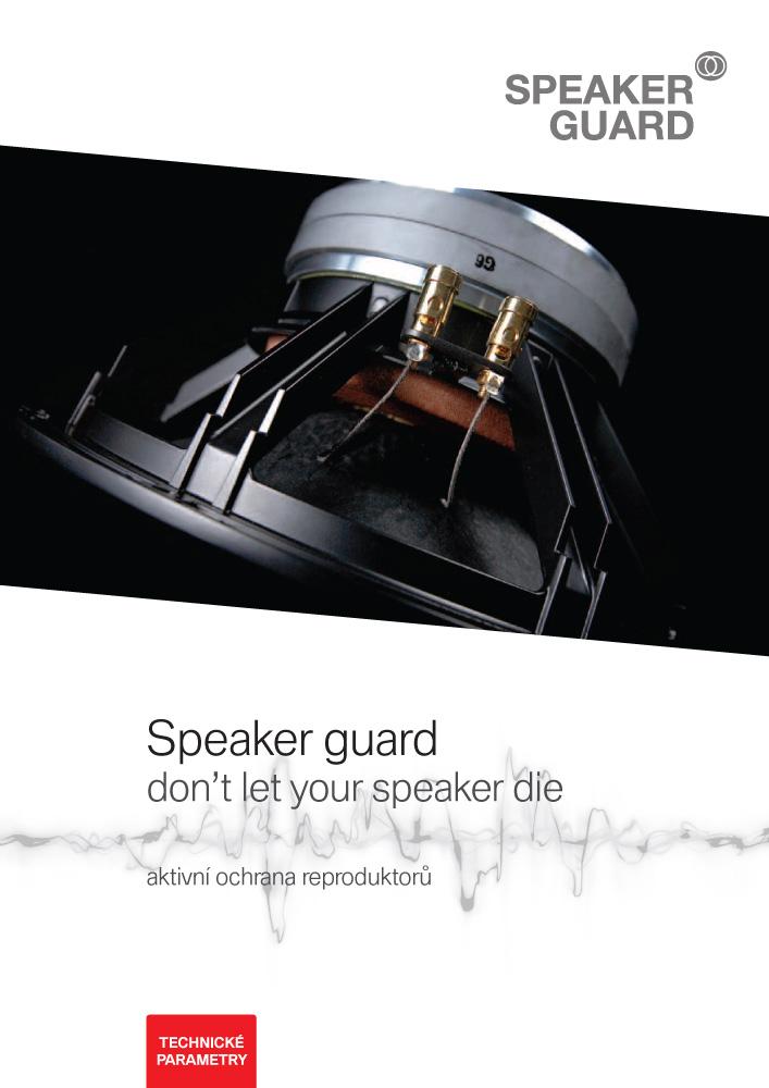 Technické parametry SpeakerGuard